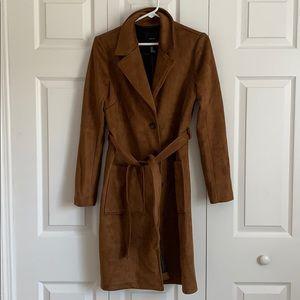 Men's Faux Suede Coat